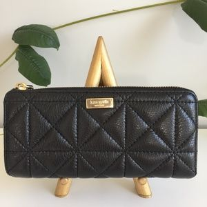 Kate Spade Whitaker Place Nisha Leather Wallet